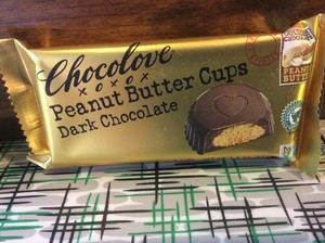 Chocolove Dark Peanut Butter Cups